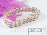 7-7.5mm freshwater pearl stretchy bracelet wholesale