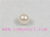 white 7-7.5mm AA Grade akoya loose pearl beads wholesale